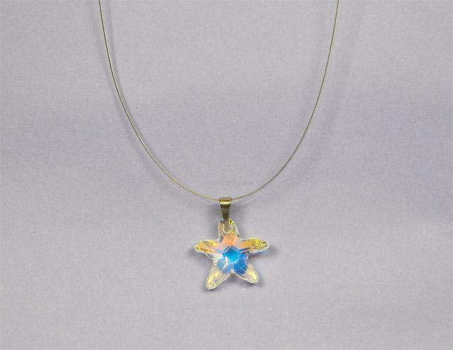 Starfish 16mm se Swarovski ELEMENTS