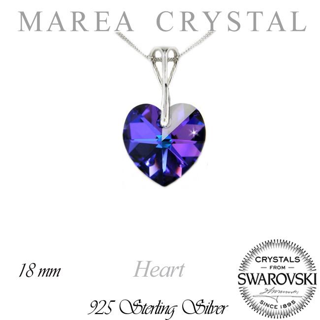 5390c54d2 Náhrdelník Srdce Heliotrop | Swarovski šperky a bižuterie za ...