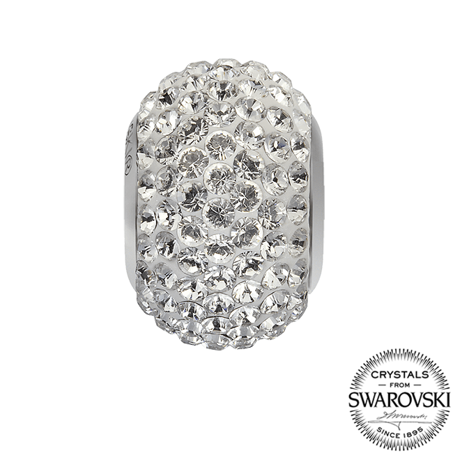 80101 BeCharmed Pavé Bead Crystal