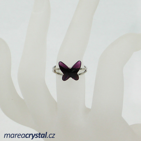 Prsten se Swarovski ELEMENTS Butterfly 12mm