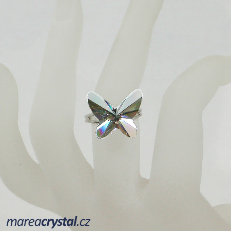 Prsten se Swarovski ELEMENTS Butterfly 18mm