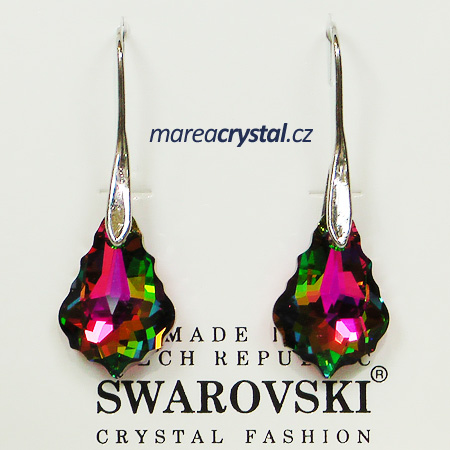 Naušnice se Swarovski ELEMENTS Baroque