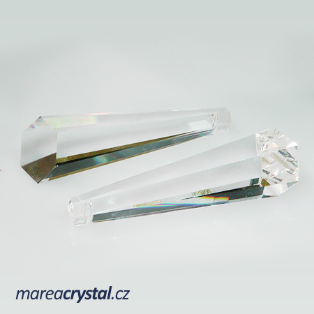 Křišťál Drop 63x22mm Crystal