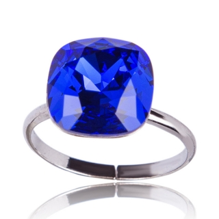 Prsten Square 12mm Majestic Blue