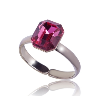 Prsten Octagon 10mm Rose