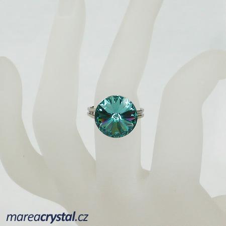 Prsten se Swarovski ELEMENTS Rivoli 14mm