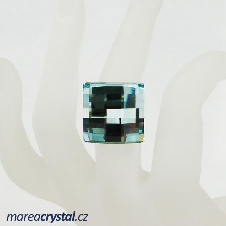 Prsten se Swarovski ELEMENTS Chessboard 20mm