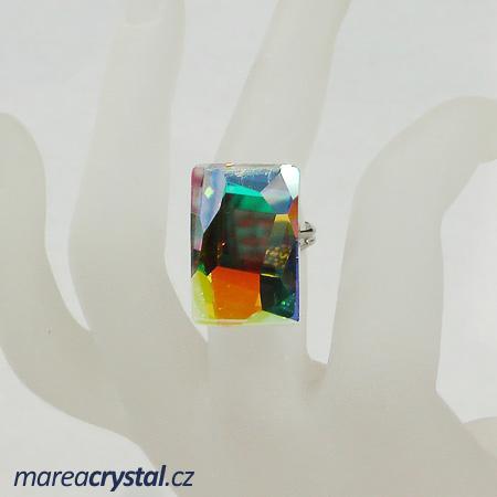 Prsten se Swarovski ELEMENTS Graphic 24mm