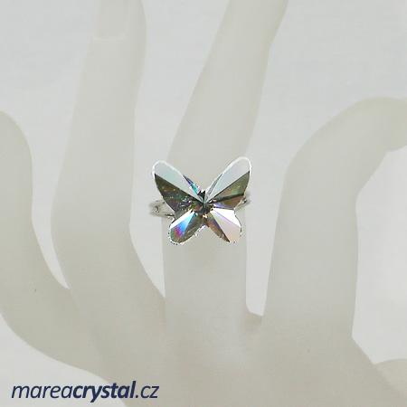 Prsten se Swarovski ELEMENTS Butterfly 18mm