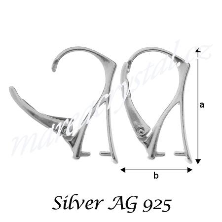 Stříbrný komponenty