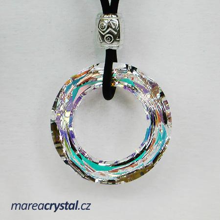 Náhrdelník se Swarovski ELEMENTS Cosmic Ring